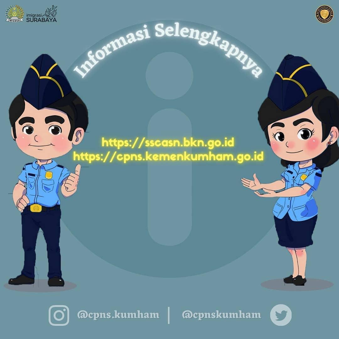 Seleksi Calon Pegawai Negeri Sipil Cpns Di Lingkungan Kementerian Hukum Dan Hak Asasi Manusia Kantor Imigrasi Kelas I Khusus Tpi Surabaya