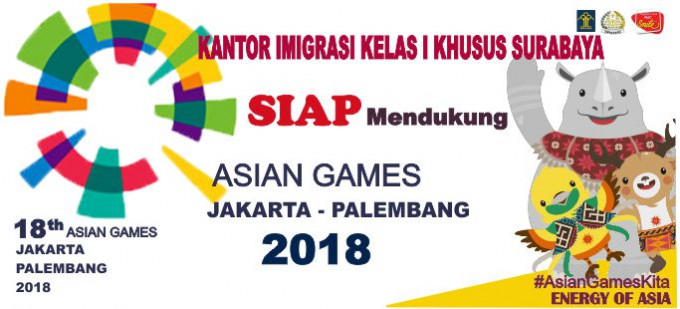 SEMARAK ASIAN GAMES TAHUN 2018